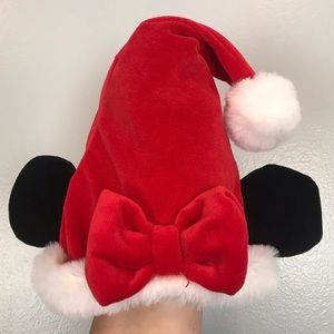 Disney Baby Minnie Mouse Christmas Santa Hat